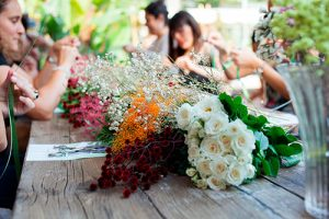 Floral workshop en Cotton House Hotel Barcelona